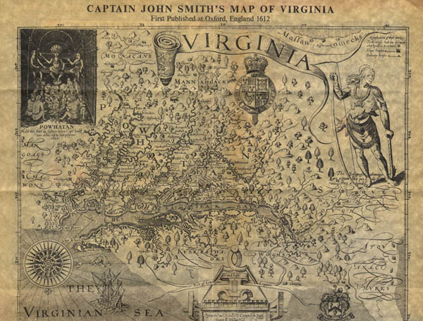 john smiths account of the founding John smith and powhatan exchange views, 1608 the virginia company's instructions to sir thomas gates concerning the natives, may 1609 powhatan takes advantage of the starving time, 1609-1610.
